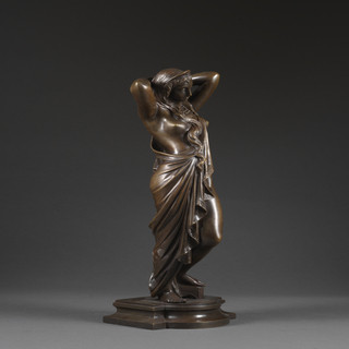 James Pradier, Nyssia, bronze