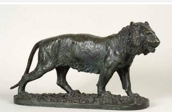 Christophe Fratin, tigre, sculpture
