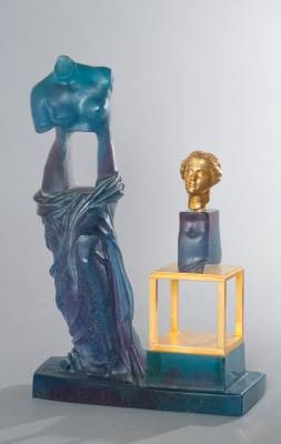 Salvador Dali, Daum, sculpture