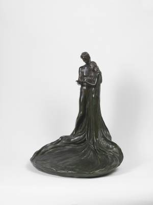 Emile Bernard, couple enlacé, bronze