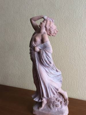 Joseph Cormier, dit Joe Descomps, danseuse, sculpture