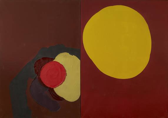 Luis Feito, Composition 1969, tableau
