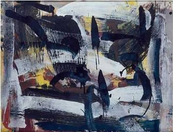 Jean-Paul Riopelle, composition, gouache