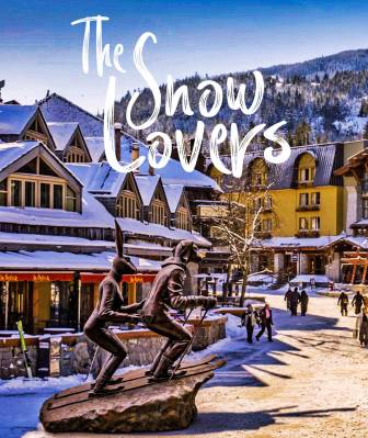The Snow Lovers par Gillie and Marc