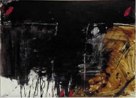 Antoni Tapies, rectangles tâchés