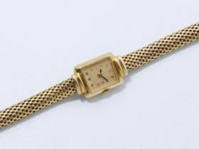 Boucheron, montre de dame or