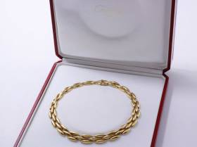 Cartier, collier or grain de riz