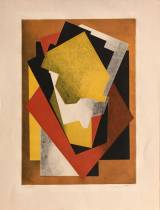 Jacques Villon, composition cubiste