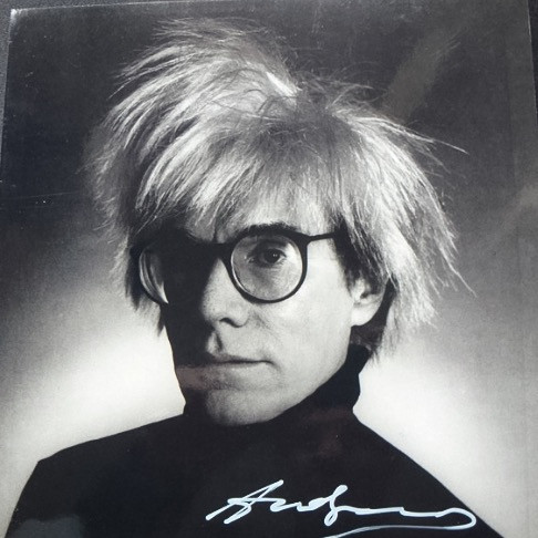 Andy Warhol, autoportrait, photographie