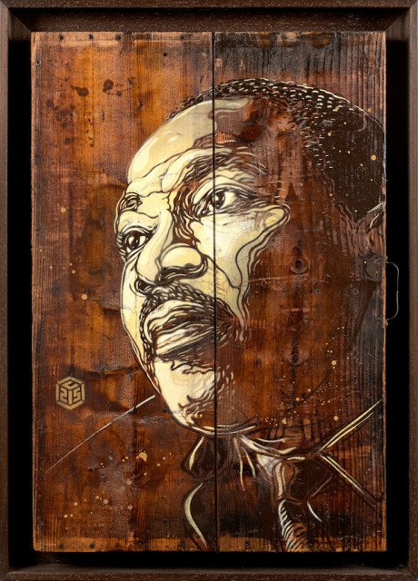 C215, Martin Luther King, tableau