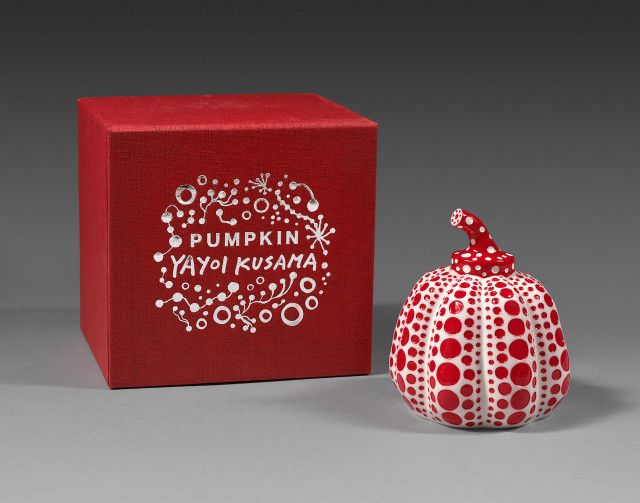 Kusama, Pumpkin Red & White