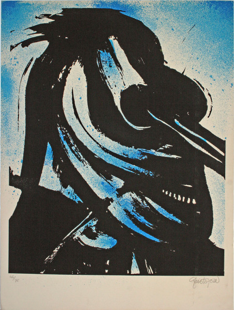 John Christoforou, composition, lithographie
