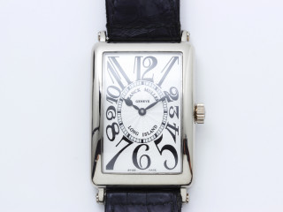 Montre Franck Muller Long island or gris