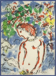 Marc Chagall, Printemps, lithographie