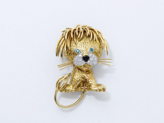 Van Cleef and Arpels, broche lionceau