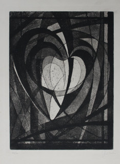 Georges Guido Filiberti, composition, gravure