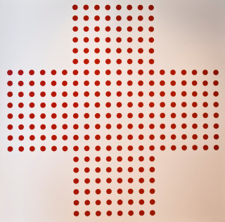 Damien Hirst, Red Cross, sérigraphie